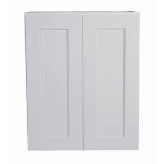 "Design House 561720  Brookings 24"" Wide x 30"" High Double Door Wall Cabinet - White"