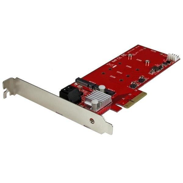 Startech Pexm2sat3422 2X M.2 Ngff Ssd Raid Controller Card, 2X Sata Iii Ports