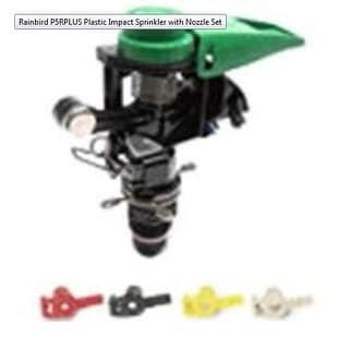 Rain Bird P5-R PLUS Sprinkler With Nozzle Set, Plastic