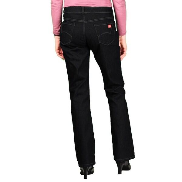 Dickies Womens Curvy Bootcut Leg Denim Jean