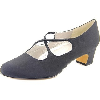 Trotters Jamie Round Toe Synthetic Heels