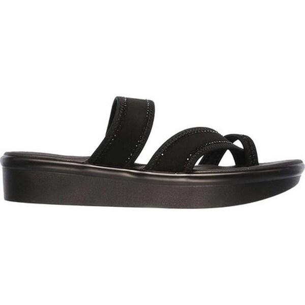 Shop Skechers Women's Bumblers Steady Rock Toe Loop Sandal
