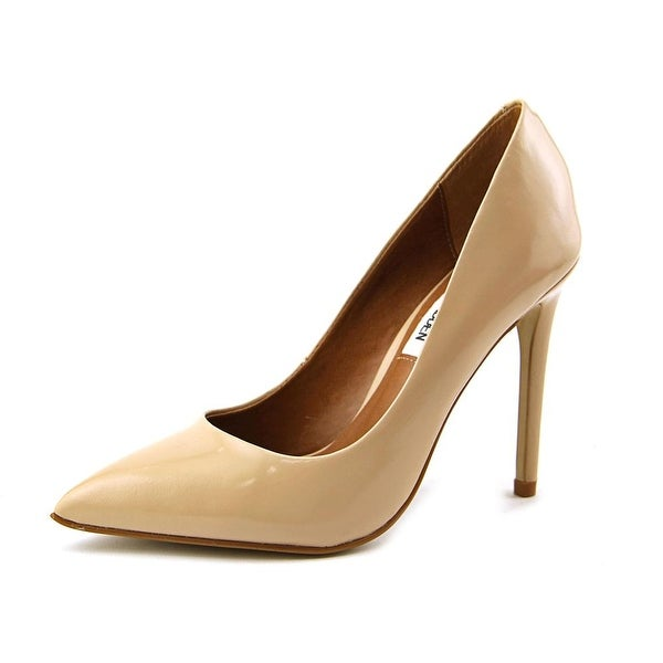 Steve Madden Proto Women Pointed Toe Leather Nude Heels