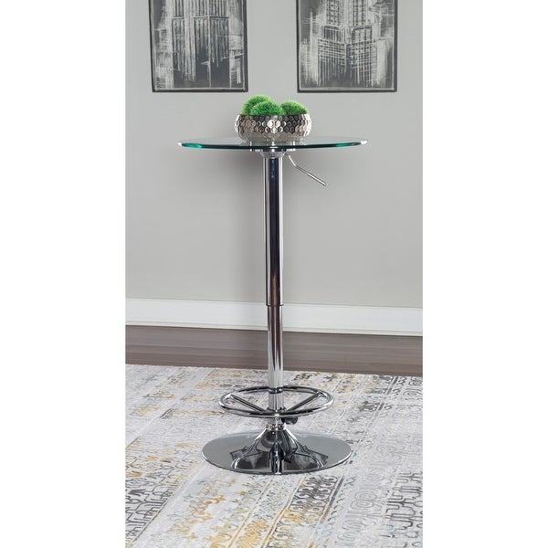 Strick & Bolton Siza Adjustable Pub Table. Opens flyout.