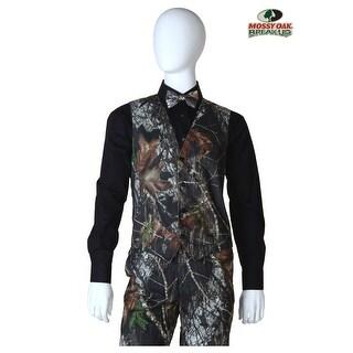 Mossy Oak Camo Tuxedo Vest