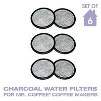 GoldTone Water Filter Replacement Discs, Replaces Mr. Coffee WFF-3 Water Filter Discs- Set of 6