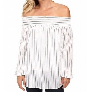 MICHAEL Michael Kors NEW White Women's Size Small S Striped Blouse