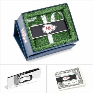 Kansas City Chiefs Money Clip - navy
