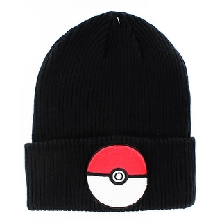 Pokemon Pokeball Cuff Knit Beanie