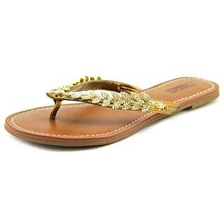 Carlos by Carlos Santana Hibi Open Toe Synthetic Flip Flop Sandal