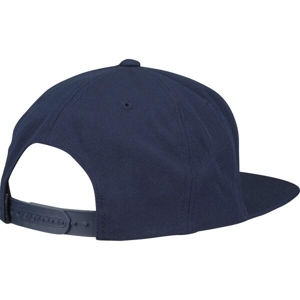RVCA Mens VA Sport Crusher Snapback Hat Navy Blue//Sky Blue