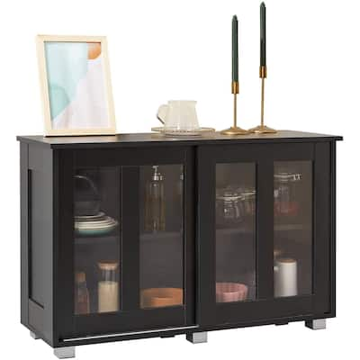 EROMMY Storage Cabinet, Floor Cabinet and Buffet Sideboard