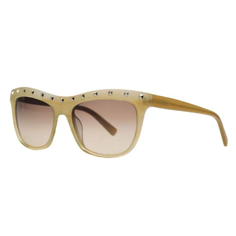 Valentino V 650/S 265 Beige Rectangle Sunglasses
