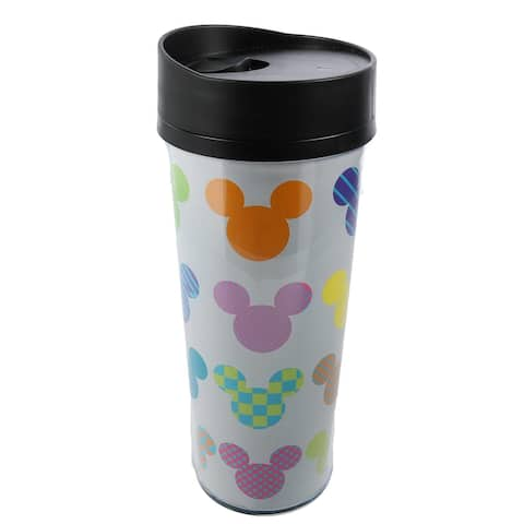 Jerry Leigh Disney Mickey Mouse Acrylic Travel Coffee Mug - one size