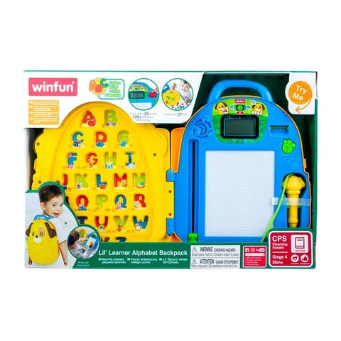 Lil Learner Alphabet Backpack - Blue