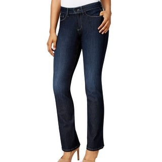 NYDJ NEW Blue Womens Size 12 Barbara Hollywood Boot Cut Leg Jeans