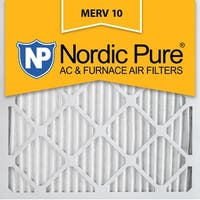 12x12x1 Pleated MERV 10 AC Furnace Air Filters Qty 6