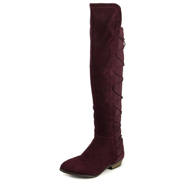 Material Girl Cayln Women Wine Boots