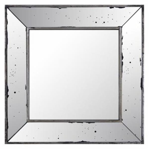 Shop Art Maison Canada 18.11 x 18.11 in. Square Mirrored Frame Wall ...