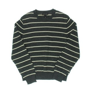 Private Label Mens Striped Long Sleeves Pullover Sweater