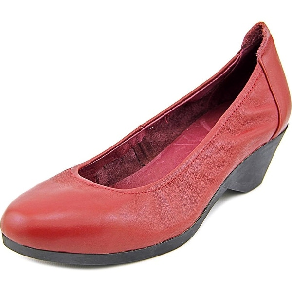 Spring Step Keziah Women  Open Toe Leather  Wedge Heel