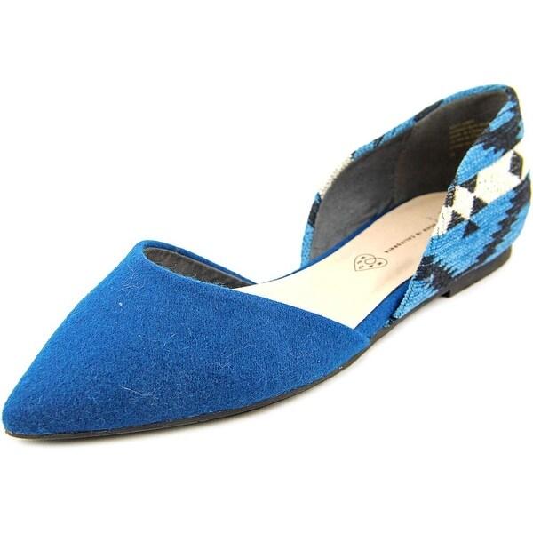 BC Footwear Society Pointed Toe Canvas Flats