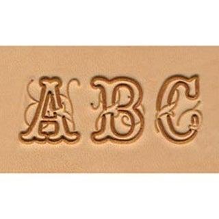 "Script .75"" - Alphabet Stamp Set"