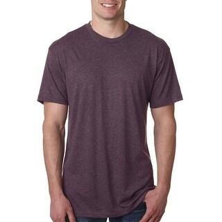 Next Level Mens Tri-Blend Crew - Vintage Purple - 2X-Large