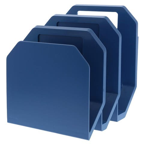 Bostitch Konnect 3-Piece File Organizer, Includes Cubicle Hanger