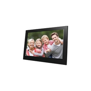Naxa NF-900 Naxa 9 Digital Photo Frame - 9 LED Digital Frame - Black - 800 x 480 - Cable - JPEG - Slideshow, Clock,