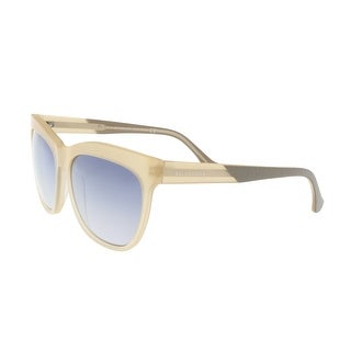 Balenciaga BA0067 73C Cream Square Sunglasses - 59-15-140