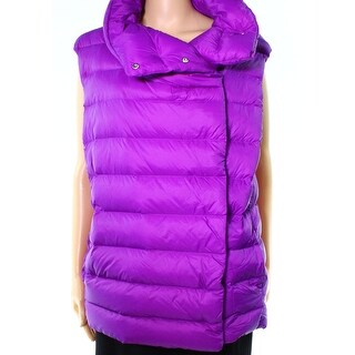 Lauren by Ralph Lauren NEW Purple Women's Large L Vest Puffer Jacket