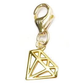 Julieta Jewelry Diamond Outline Clip-On Charm