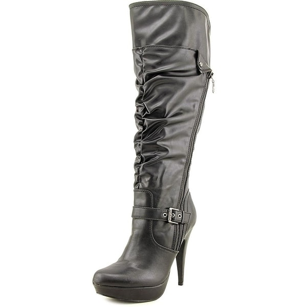 G By Guess Women's Drea Wide Calf Platform Dress Boots