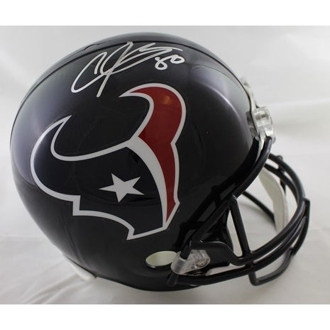 Shop Andre Johnson Autographed Houston Texans Current Replica Helmet JSA -  Free Shipping Today - Overstock - 19547408 d2c483573