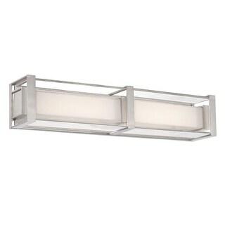 "Modern Forms WS-6224 Sheridan 24"" Width LED Dimming Bath Bar Light"