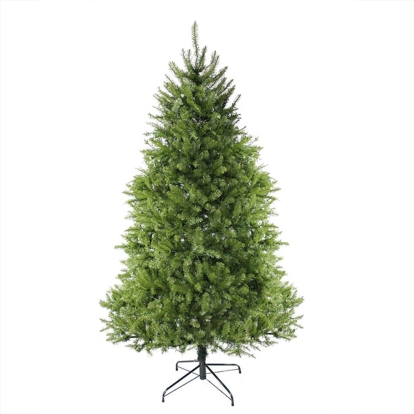 6.5' Northern Pine Full Artificial Christmas Tree - Unlit - green