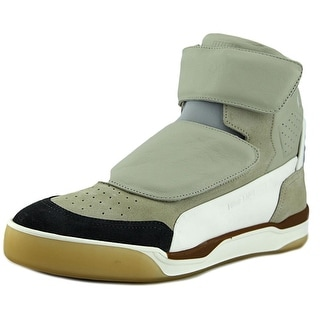 Alexander McQueen By Puma McQ Move Mid Men Round Toe Leather Tan Basketball Shoe