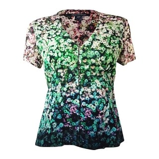 French Connection Women's Hedgerow Blossom V-Neck Top - 2