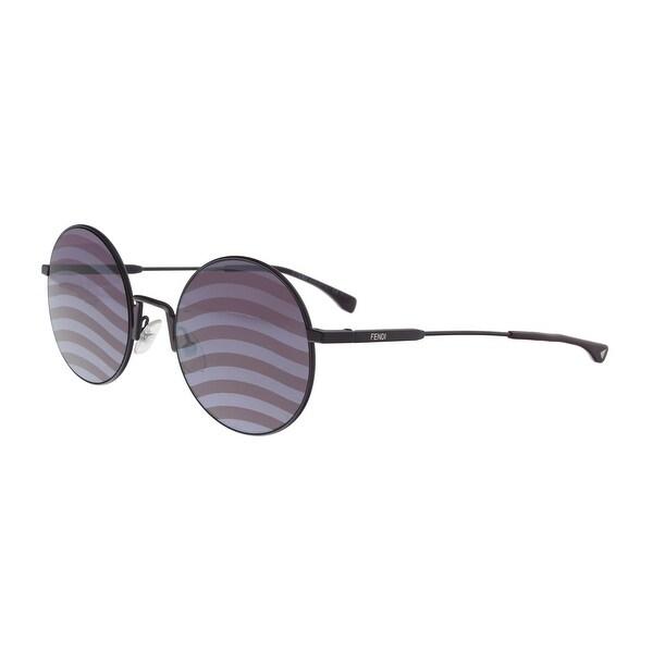 d92e595d0067 Shop FENDI FF 0248 S 0B3V Violet Round Sunglasses - No Size - Free ...
