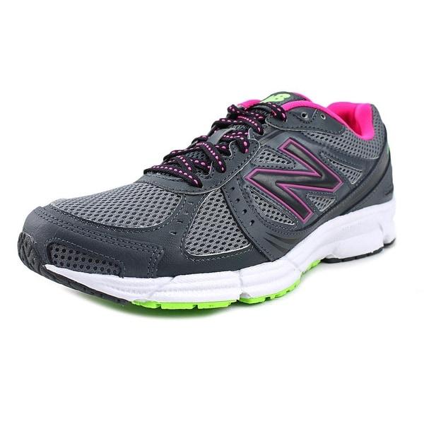 New Balance WE495 Women  Round Toe Synthetic Gray Running Shoe
