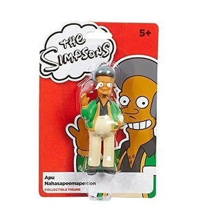"The Simpsons 4"" Apu Nahasapeemapetilon Collectible Figure by Character Options - Multi-Colored"