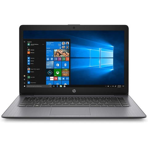 "HP Stream 14""Laptop Intel N4000 4GB 32GB SSD Win 10 (Refurbished)"