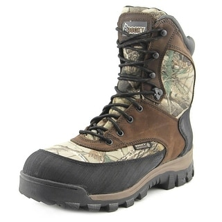 Rocky Core Waterproof Insulated Outdoor Boot Men Leather Brown Hiking Boot