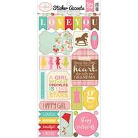 "Granddaughter Stickers 6""X13""-"