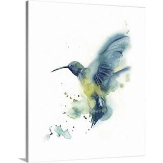 """Hummingbird"" Canvas Wall Art"