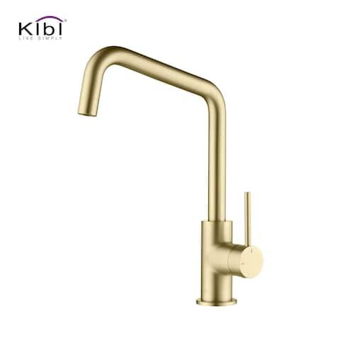Single-Hole 1-Handle Kitchen Bar/Prep Sink Faucet