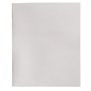 School Smart 2-Pocket Folder, White, Pack of 25