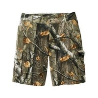 Legendary Whitetails Men's Ripstop Camo Cargo Shorts