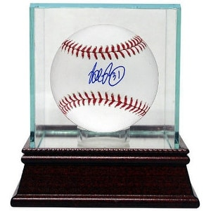 Brad Penny signed Rawlings Official Major League Baseball w/ Glass Case #31 (Dodgers/Marlins/Red Sox/Tigers)